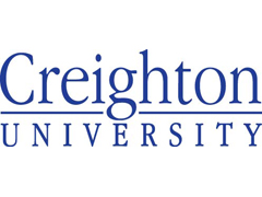 Image of Creighton University logo. Link to Greg and Mary Lou Batenhorst's story.